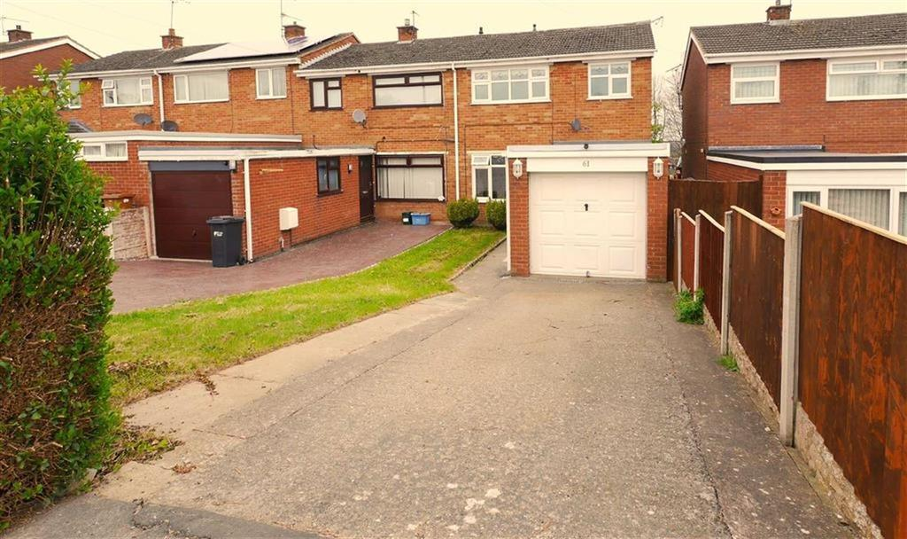 3 Bedrooms Terraced House for rent in St Davids Drive, Deeside, CH5