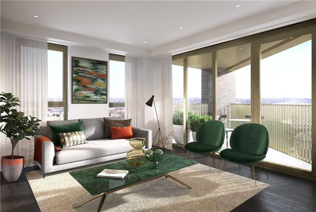 2 Bedrooms Flat for sale in Royal Victoria Docks, E16