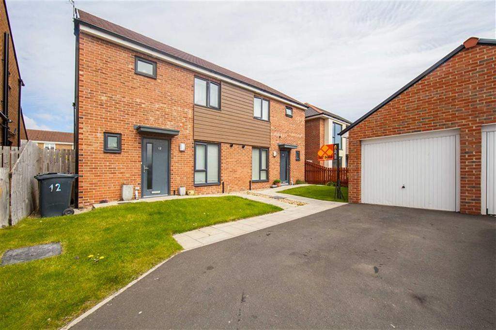 3 Bedrooms Semi Detached House for sale in The Acres, Wallsend, Tyne Wear, NE28
