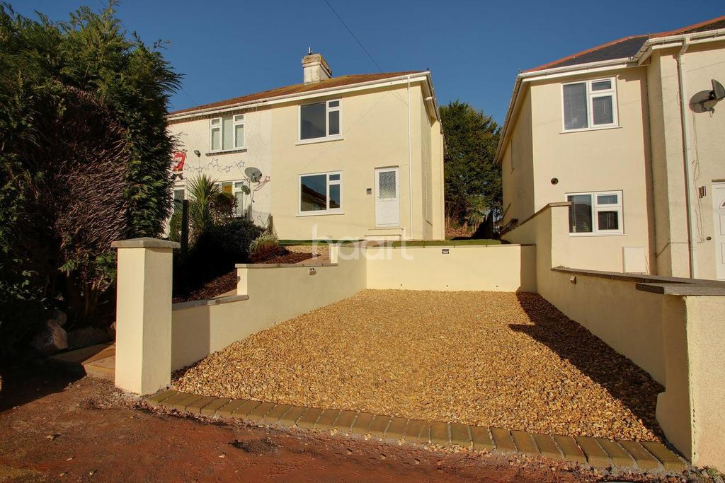 3 Bedrooms Semi Detached House for sale in Salisbury Avenue, Torquay
