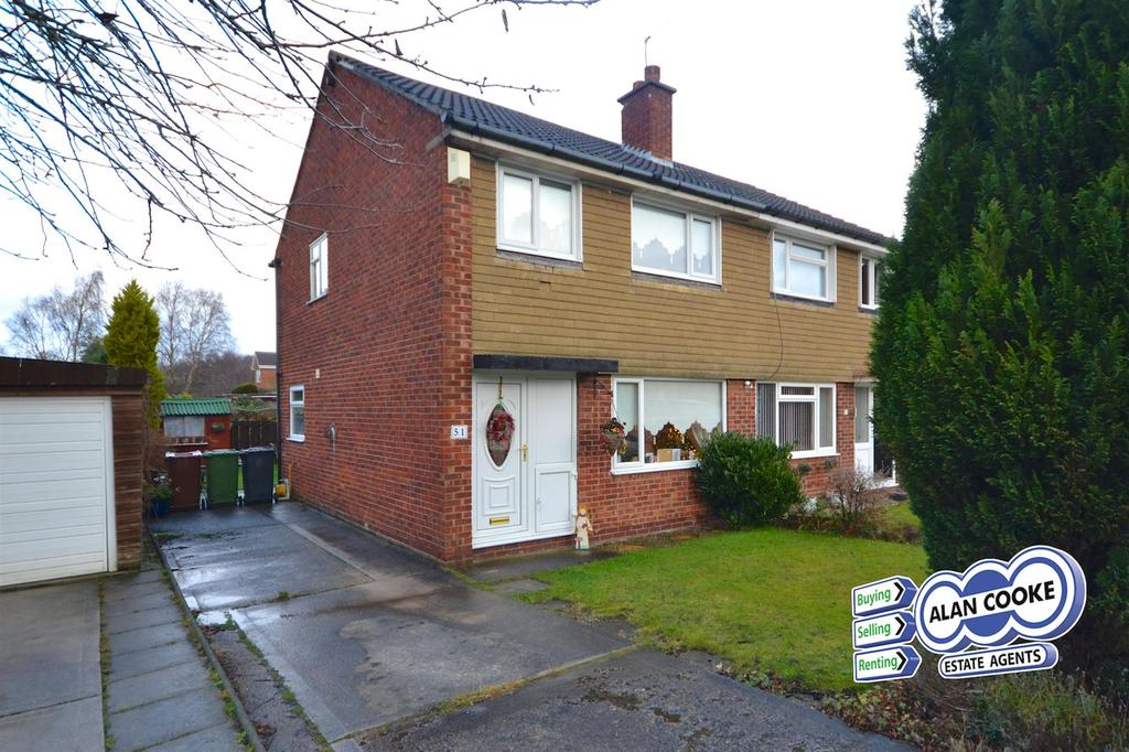3 Bedrooms Semi Detached House for sale in Birkdale Drive, Alwoodley