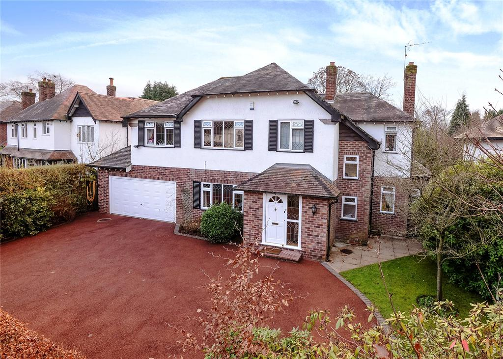 6 Bedrooms Detached House for sale in Carrwood Road, Wilmslow, Cheshire, SK9