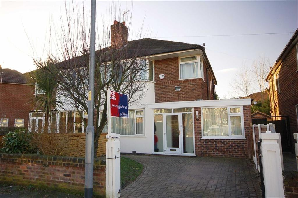 3 Bedrooms Semi Detached House for sale in Parkville Road, Didsbury, Manchester, M20