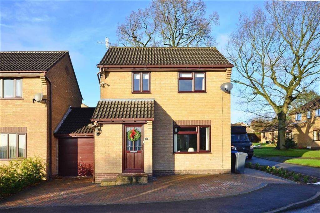 3 Bedrooms Link Detached House for sale in 21, Highfield Drive, Matlock, Derbyshire, DE4