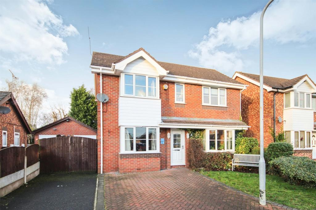 3 Bedrooms Detached House for sale in The Sidings, Cheadle, Staffordshire