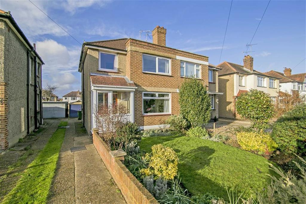 3 Bedrooms Semi Detached House for sale in Willow Way, Ewell Court, Surrey