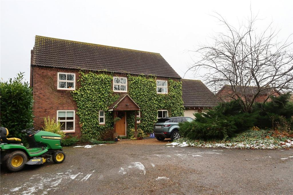 4 Bedrooms Detached House for sale in Wren Close, Deeping St. Nicholas, Spalding, Lincolnshire, PE11