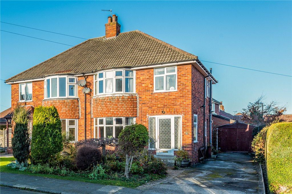 3 Bedrooms Semi Detached House for sale in Kendal Road, Harrogate, North Yorkshire