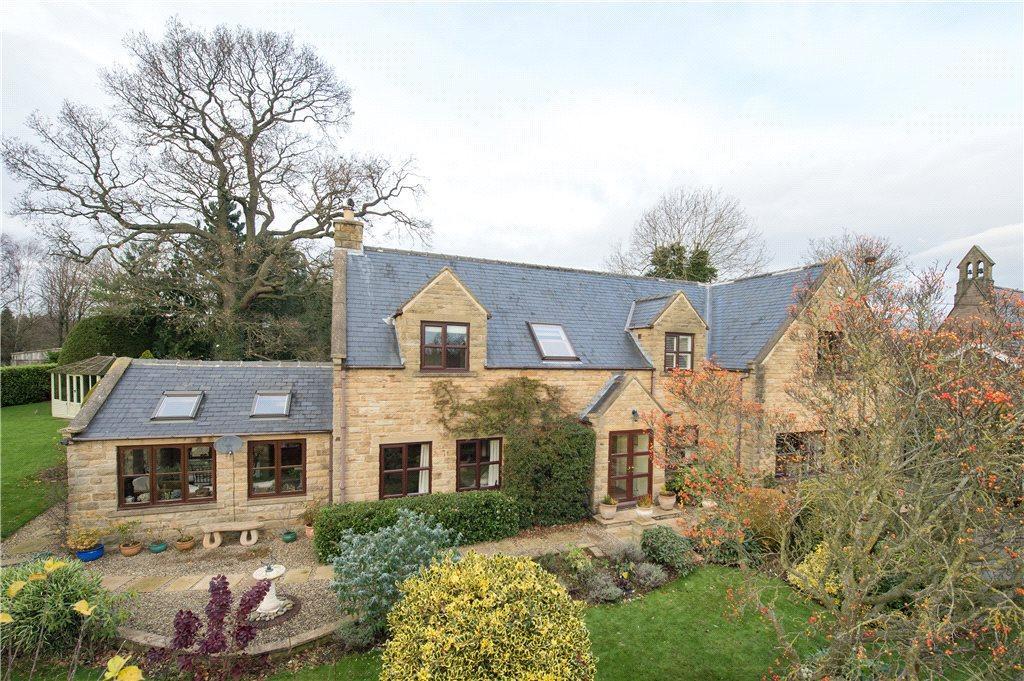 4 Bedrooms Detached House for sale in Westerns House, Westerns Lane, Markington, Harrogate