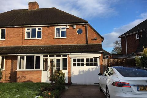 3 bedroom semi-detached house to rent - Willow Road, Solihull, B91 1UE