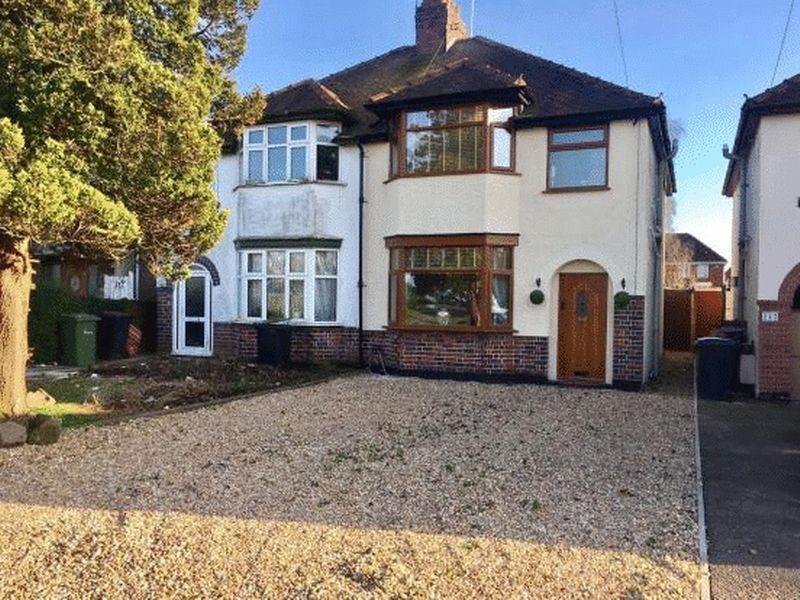 3 Bedrooms Semi Detached House for sale in Hinckley Road, Nuneaton