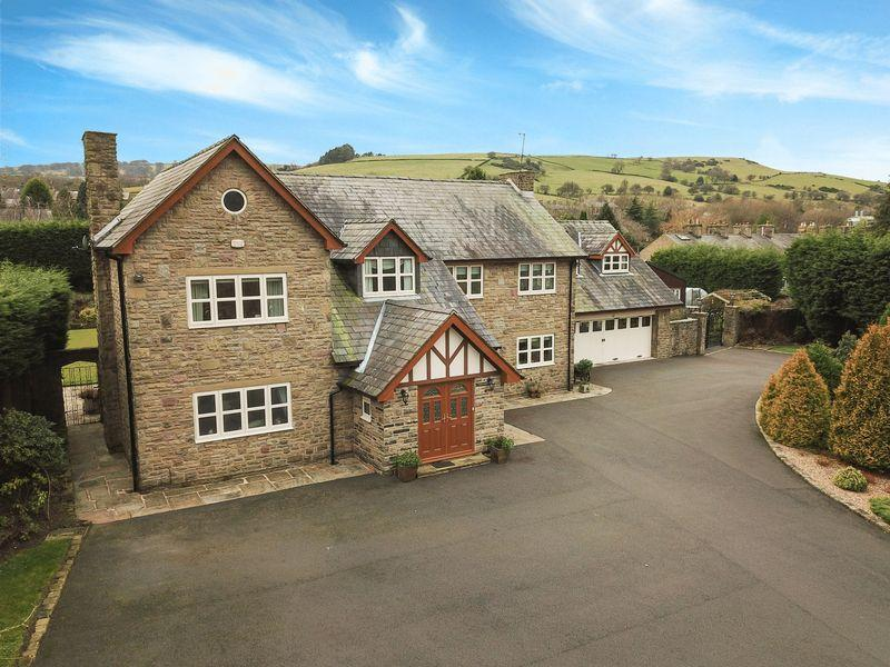 6 Bedrooms Detached House for sale in Lake View House, High Peak