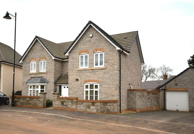 4 Bedrooms Detached House for sale in Maes Gamage, Coity, Bridgend