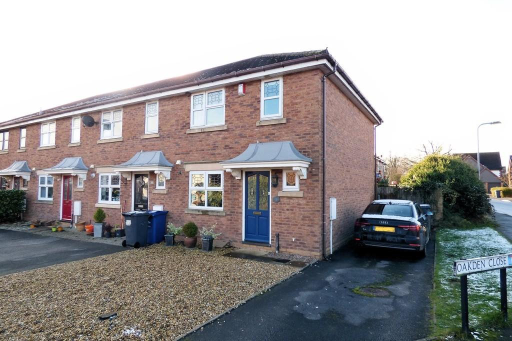 3 Bedrooms End Of Terrace House for sale in Oakden Close, Bramshall