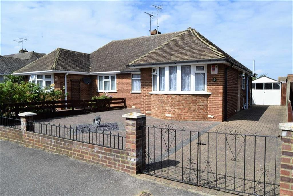 2 Bedrooms Semi Detached Bungalow for sale in Wooldeys Road, Rainham, Kent, ME8