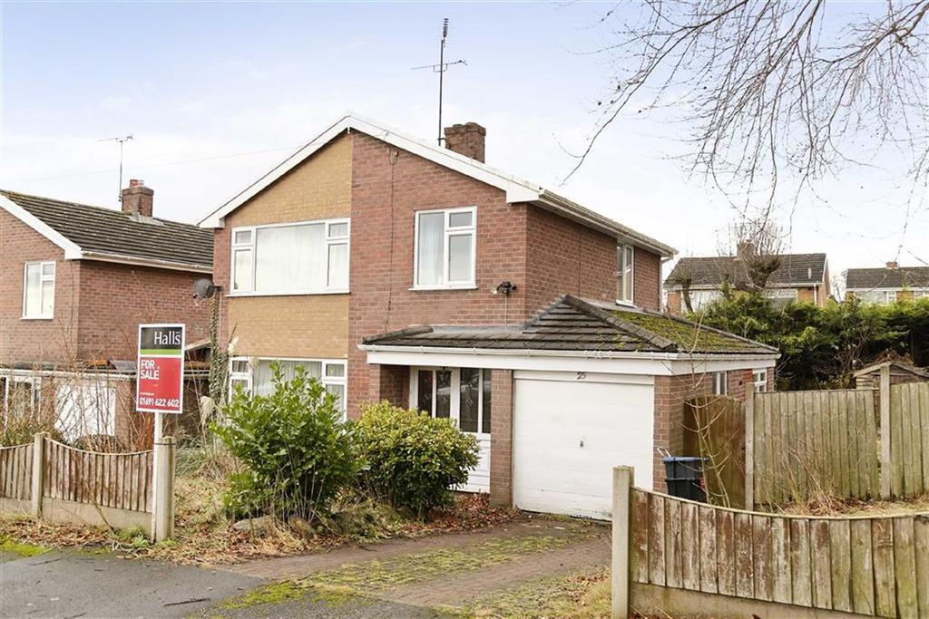 3 Bedrooms Detached House for sale in Pont Adam Crescent, Ruabon, LL14