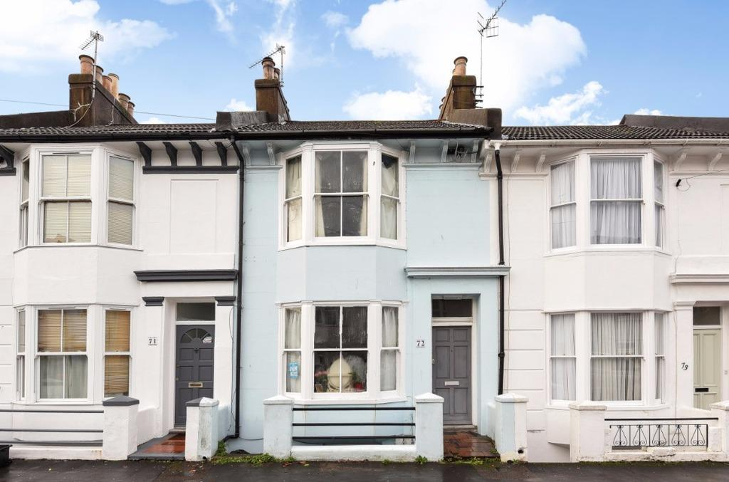 4 Bedrooms Terraced House for sale in Hanover Terrace Brighton East Sussex BN2
