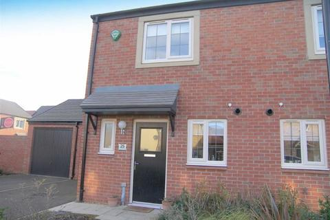 2 bedroom semi-detached house for sale - Countess Way, Earsdon View, Tyne And Wear, NE27