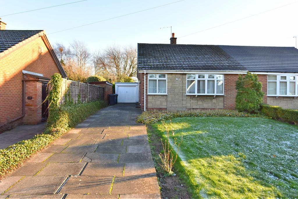 2 Bedrooms Semi Detached Bungalow for sale in Noel Gate, Aughton
