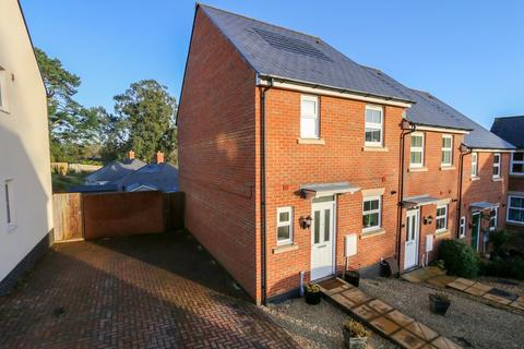 3 bedroom end of terrace house for sale - Sampson Close, Sidmouth
