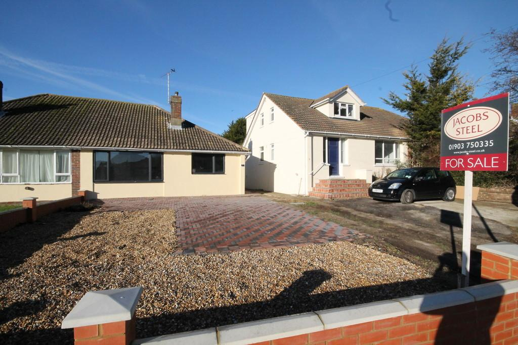 2 Bedrooms Semi Detached Bungalow for sale in Halewick Lane, Lancing