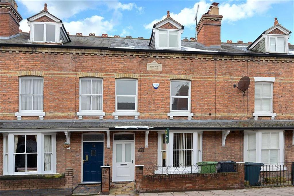 4 Bedrooms Terraced House for sale in Moreton Crescent, Belle Vue, Shrewsbury, Shropshire