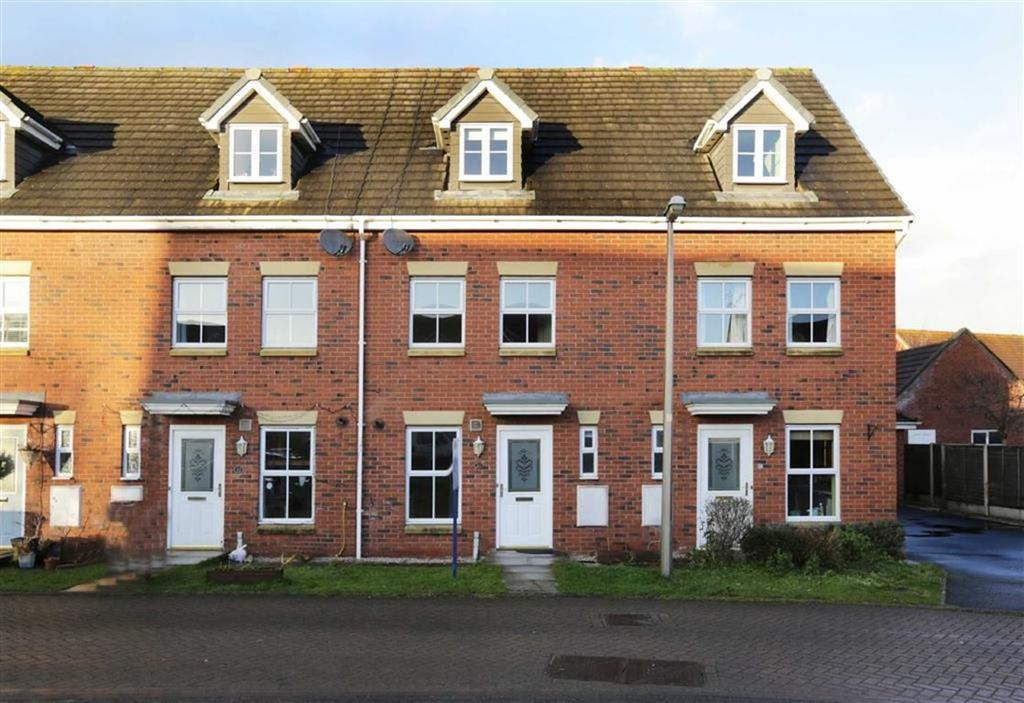 3 Bedrooms Town House for sale in Sherratt Close, Nantwich, Cheshire