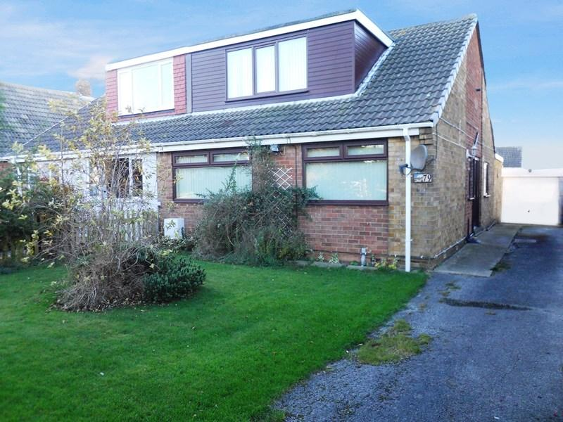 4 Bedrooms Semi Detached Bungalow for sale in Eastfield Road, Keyingham, Hull