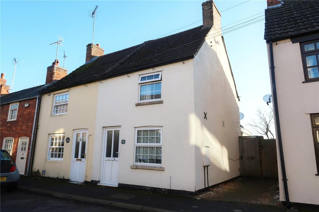 2 Bedrooms End Of Terrace House for sale in Church Street, Deeping St. James, Peterborough, PE6