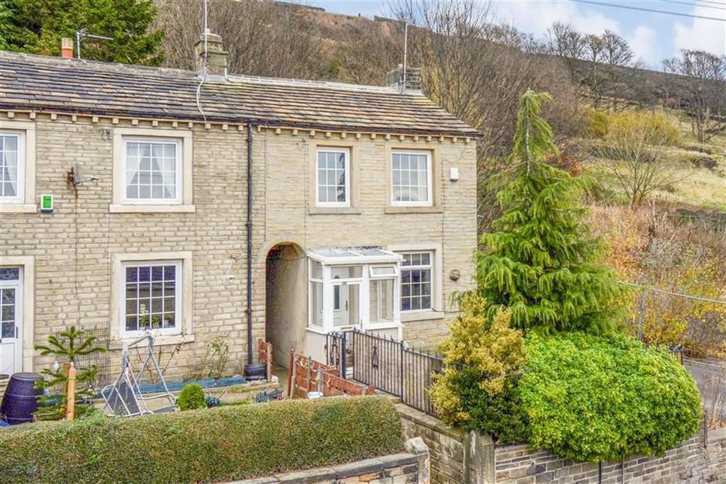 2 Bedrooms End Of Terrace House for sale in Longwood Gate, Longwood, Huddersfield, HD3