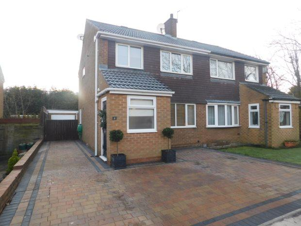 3 Bedrooms Semi Detached House for sale in FALLSWAY, CARRVILLE, DURHAM CITY