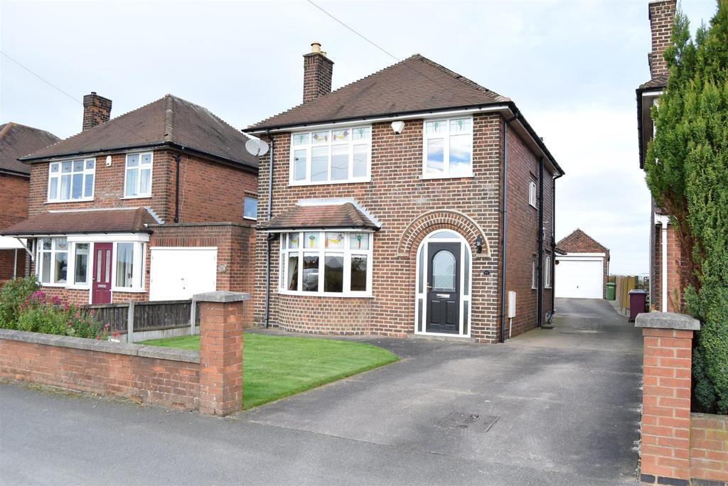 3 Bedrooms Detached House for sale in Mansfield Road, Glapwell, Chesterfield