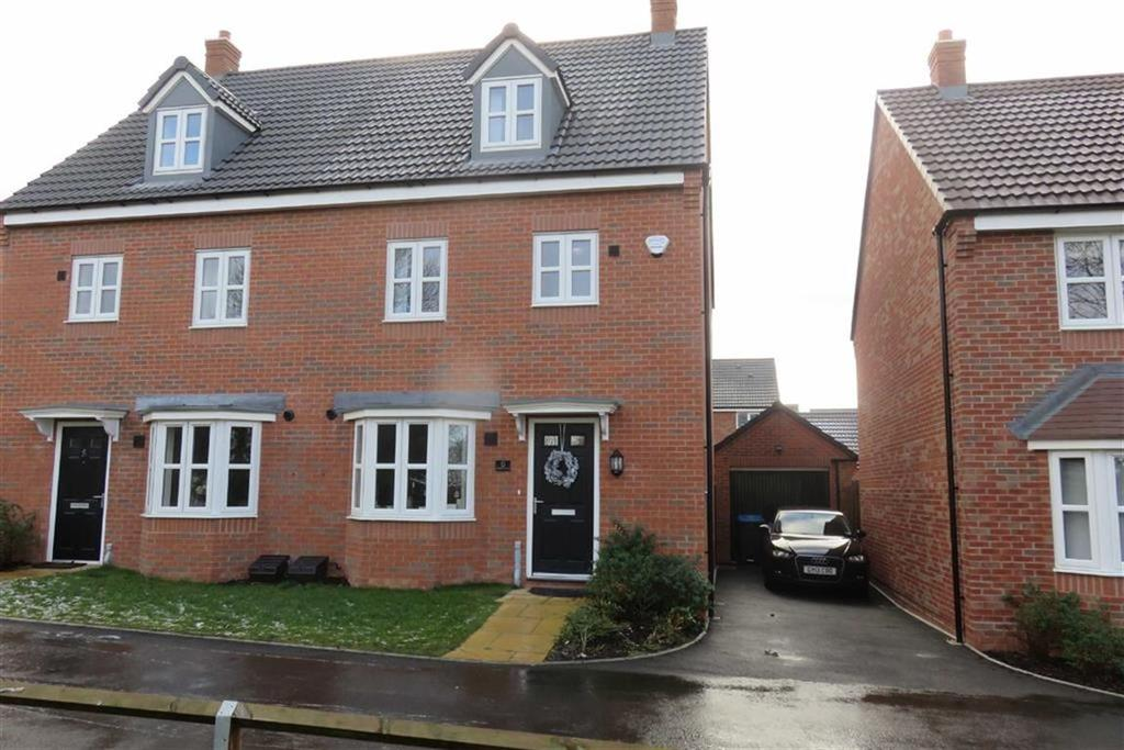 4 Bedrooms Semi Detached House for sale in Cricketers Close, Scraptoft