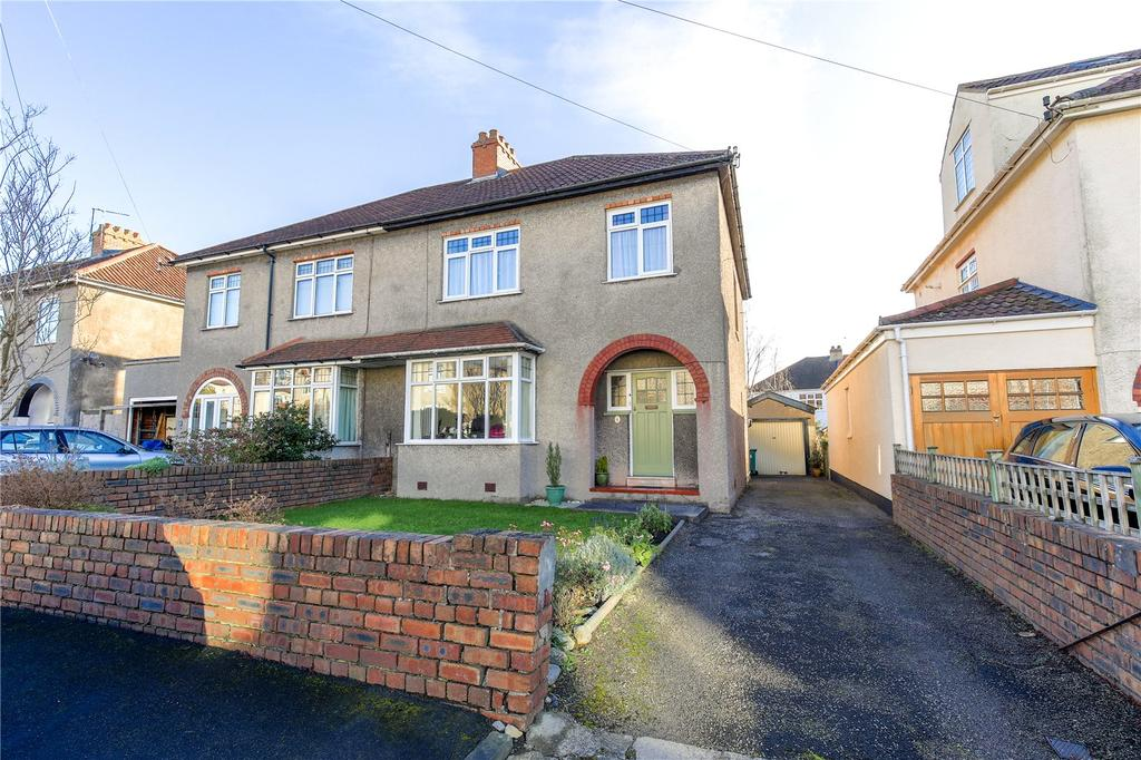 3 Bedrooms Semi Detached House for sale in South Grove, Henleaze, Bristol, BS6