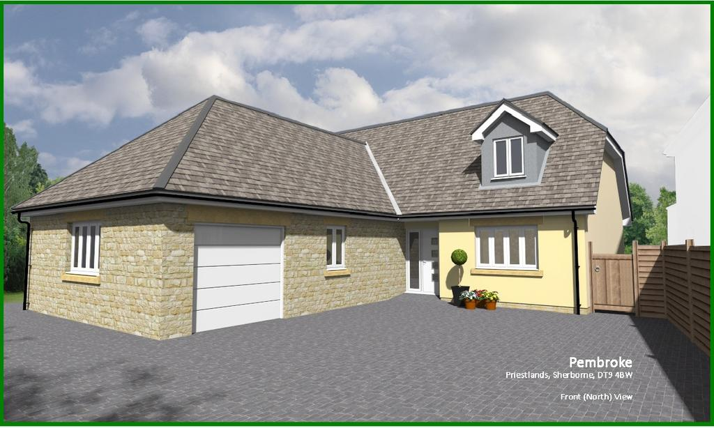 4 Bedrooms Bungalow for sale in Priestlands, Sherborne