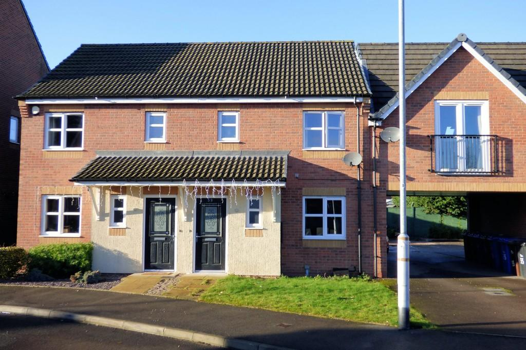 3 Bedrooms Town House for sale in Panama Road, Burton-on-Trent