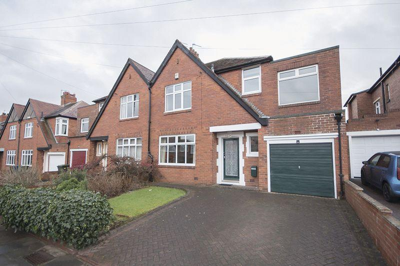 4 Bedrooms Semi Detached House for sale in The Highgate, Kenton, Newcastle Upon Tyne