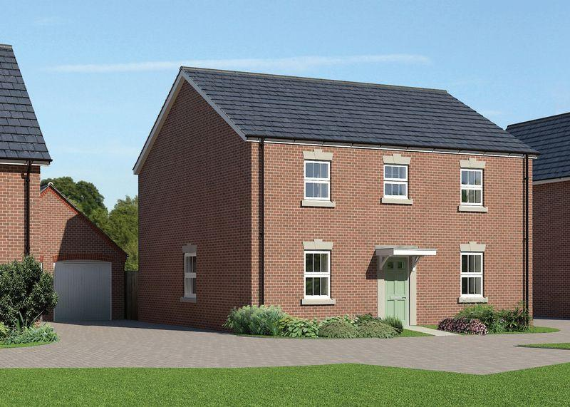 4 Bedrooms Detached House for sale in Plot 71, The Hailey at Downsview Park in Wantage