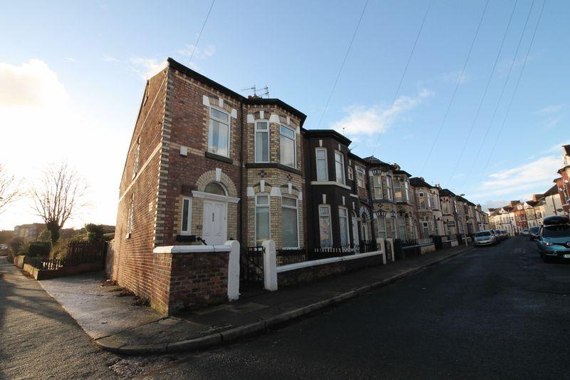 3 Bedrooms End Of Terrace House for sale in Allerton Grove, Tranmere