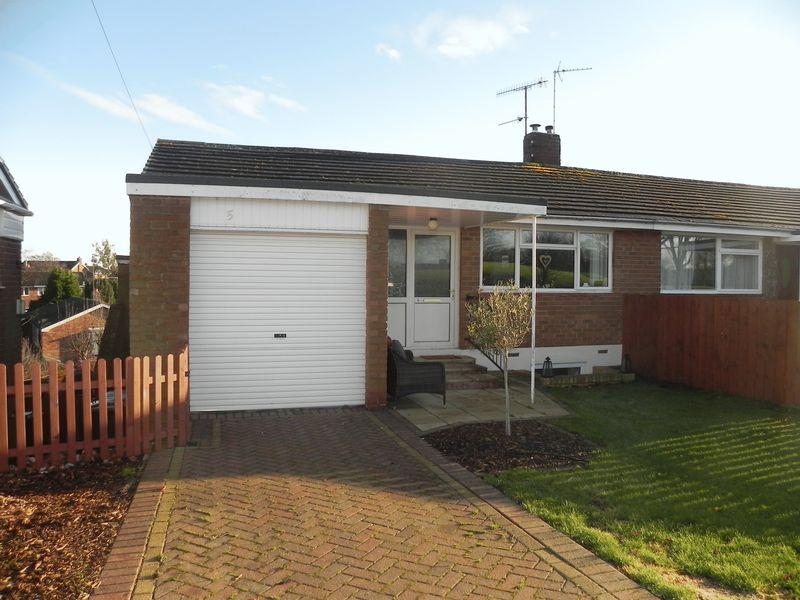 3 Bedrooms Semi Detached House for sale in Monks Ridge, Morpeth