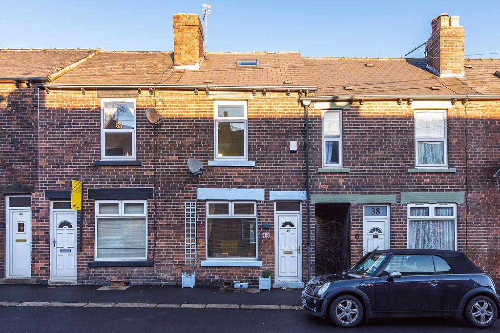2 Bedrooms Terraced House for sale in Loxley View Road, Crookes, Sheffield