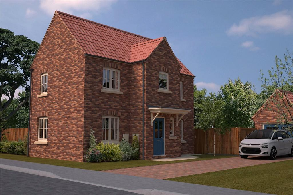 3 Bedrooms Detached House for sale in The Steeples, New Street, NG34