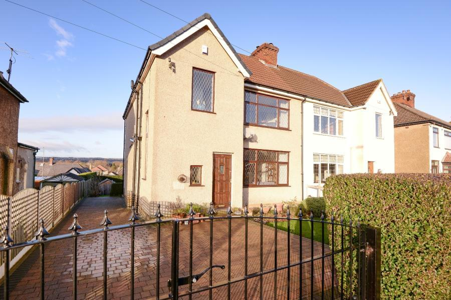 3 Bedrooms Semi Detached House for sale in NAB WOOD GROVE, SHIPLEY, BD18 4HR