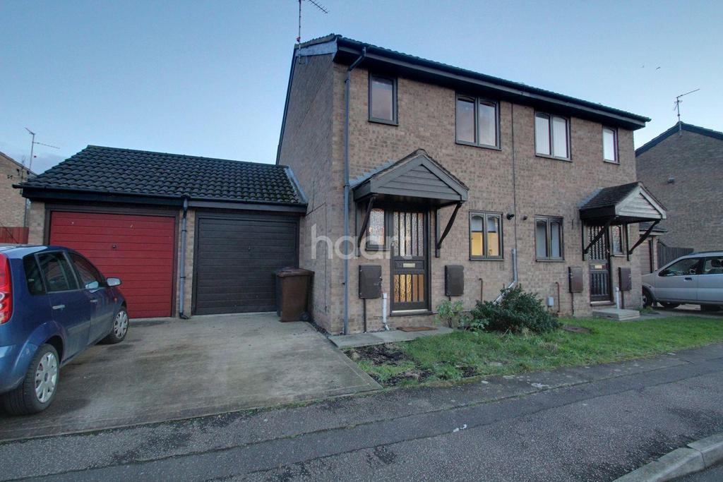2 Bedrooms Semi Detached House for sale in Hadrians Court, Peterborough