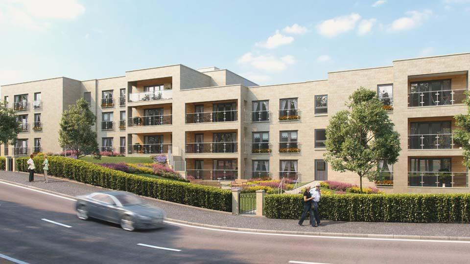 2 Bedrooms Flat for sale in Westerly, 2 Canniesburn Drive, Bearsden, G61 1RX