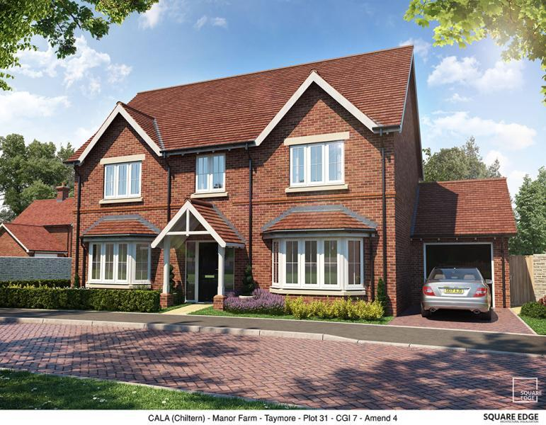 4 Bedrooms Detached House for sale in Plot 31, Edward Park, Manor Farm, Abingdon Road, Drayton Oxfordshire