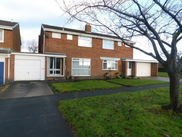 3 Bedrooms Semi Detached House for sale in BROADMEADOWS, BOWBURN, DURHAM CITY : VILLAGES EAST OF