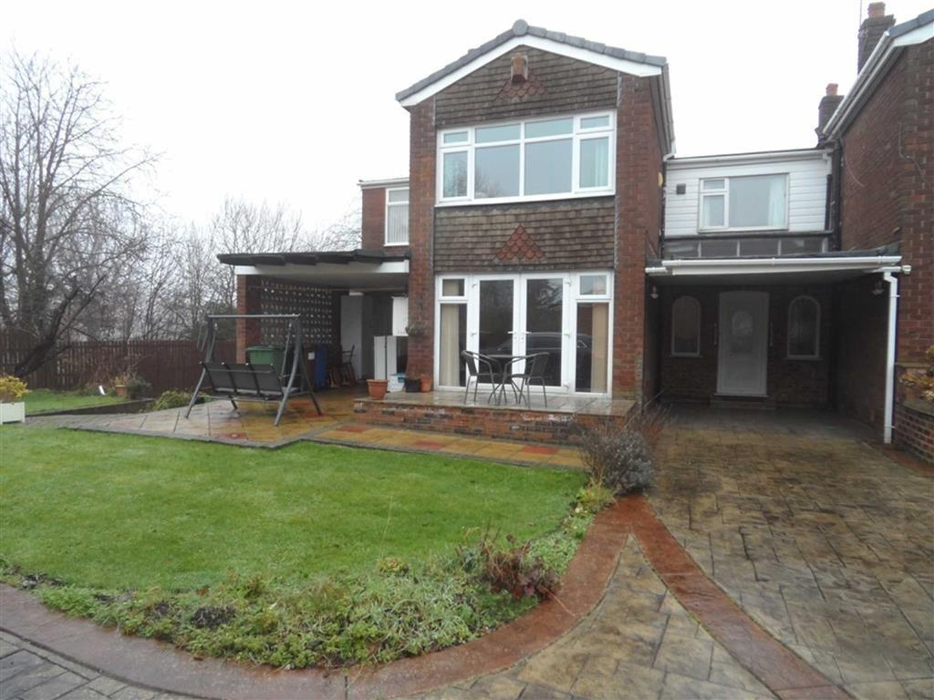 5 Bedrooms Link Detached House for sale in Motcombe Farm Road, Heald Green