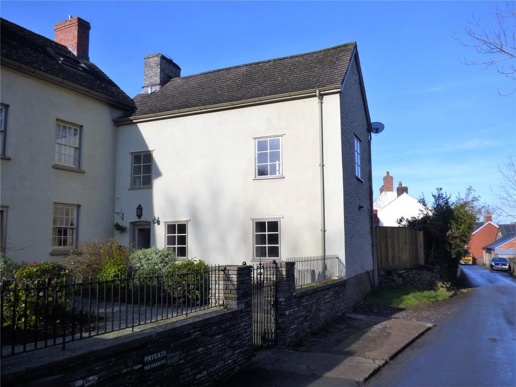 2 Bedrooms Semi Detached House for rent in Penbont Road, Talgarth, Brecon, Powys