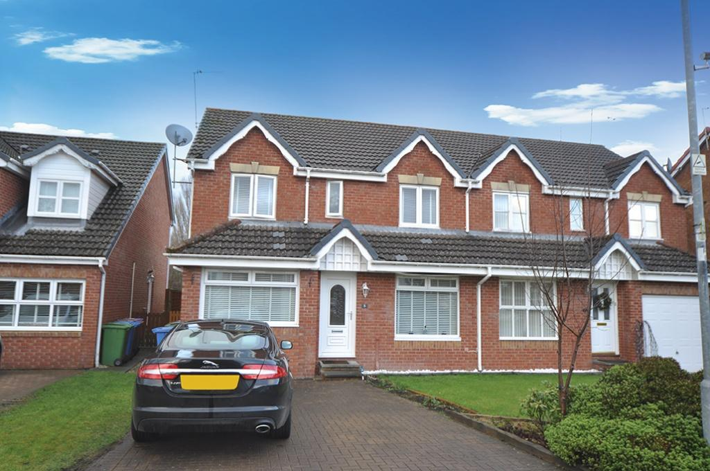 4 Bedrooms Semi Detached House for sale in 5 Silver Glade, Cardonald, G52 3JJ